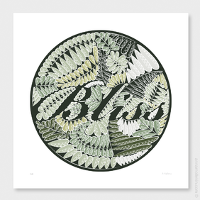 Bliss Wall Art Print by Anna Mollekin